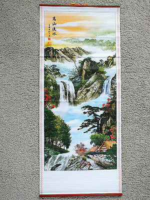 Landscape Pine Bamboo Wall Scroll Personalised Name Japanese Chinese English 8-4