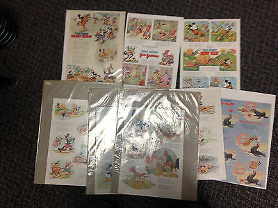 Lot Of 39 1930S/40S Disney Good Housekeeping Pages