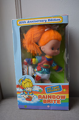 Rainbow Brite 20th Anniversary Edition Doll - Approx. 10 inches