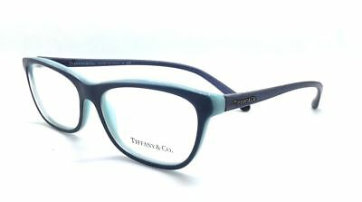 Tiffany & Co Authentic EyeglassesTF2078 8165 53mm Dark Blue/Blue Italy Pouch