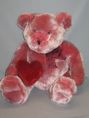 "Chosun Teddy Bear 20"" Red Heart Valentine's Day Soft Plush Stuffed 3+ #TY14"