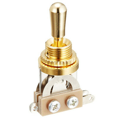 GOLD Straight SHORT 3-Way Toggle Switch for Gibson Epiphone Les Paul - MIJ Japan
