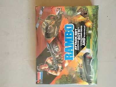 Monogram rambo attack set  ALL PLASTIC ASSEMBLY  KIT BOXED AND SEALED SCALE 1:48