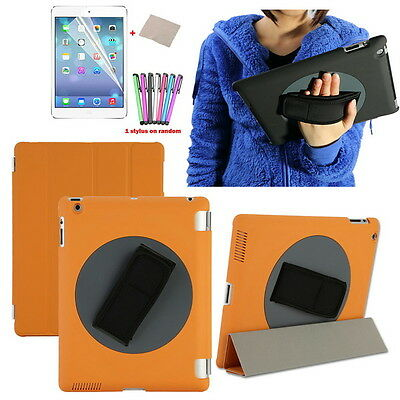 Leather 360° Rotatory Rotating Stand Smart Case Cover for Apple iPad 2 3 4 UK