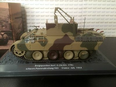 Char De Combat N°18 Bergepanther Ausf.g (Sd.kfz.179) France July 1944  1/43 Eme