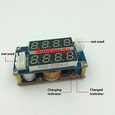 5A Adjustable CC/CV Display Step Down Charge / Supply Module LED Panel Voltmeter