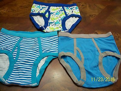 Koala Kids Handkrafted 3 Toddler Boys Briefs 100%Combed Cotton Size 5T