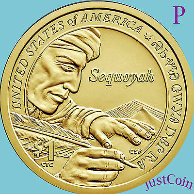 2017-P Native American Sacagawea Dollar From Mint Roll Uncirculated Presale