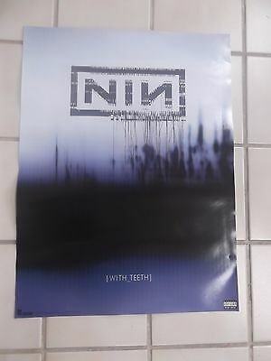 NINE INCH NAILS  WITH TEETH 2005 PROMO POSTER 18x24 MINT