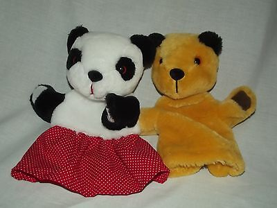 Golden Bear Sooty & Sue hand puppets 2014 good condition