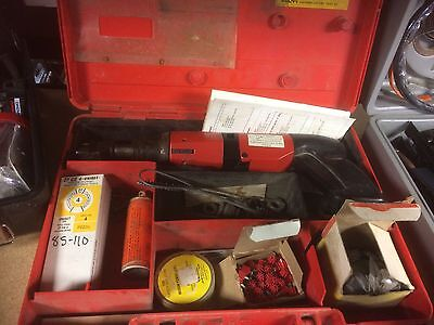 Used Hilti Dx400 Ram Set Fastening System Plus Extras