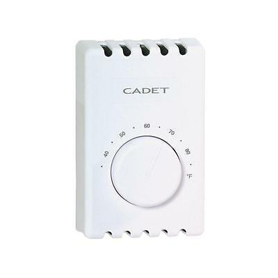 Cadet Thermostat  T410A-W Wall Mount 120/208/240 V 22 A 1 Pole FREE SHIPPING