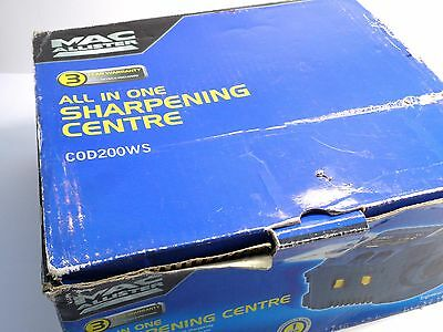 MacAllister C0D200WS All in One Sharpening Centre - Blades Drill Sharpener Tool