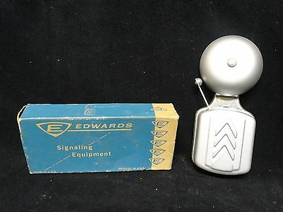 "Edwards * Signaling Equipment * 2.5"" Nubel Exposed Gong Bell * No. 740 * Nos"