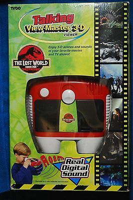 Lost World Talking View-Master Gift Pack - Complete in Box CIB - Digital Sound