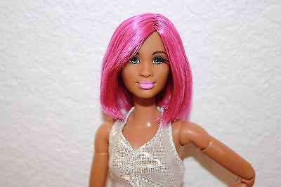 Barbie Style Doll Reroot AA Mbili Face Mold on Made to Move Body For OOAK Nude
