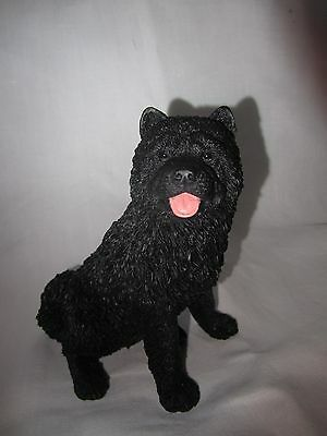Chow Chow black figure Castagna hand model made in Italy Beat the price rise