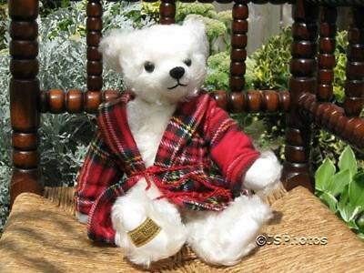 Merrythought UK Felix Christmas Mohair Growler Bear '02