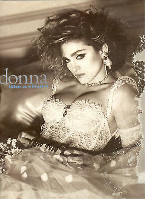 "MADONNA Like a virgin 1984 Italy 12"" LP"