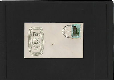 1968 Christmas 5c stamp APO Shield First Day Cover Perth WA Cancel