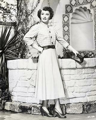 Barbara Stanwyck Fashion Trends  8X10 Photo 608