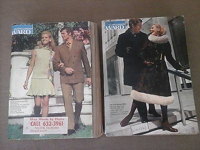 (2) 1970 Montgomery Ward Catalogs  Spring /summer  And Fall/winter