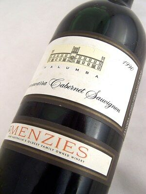 1990 YALUMBA The Menzies Cabernet Sauvignon Isle of Wine