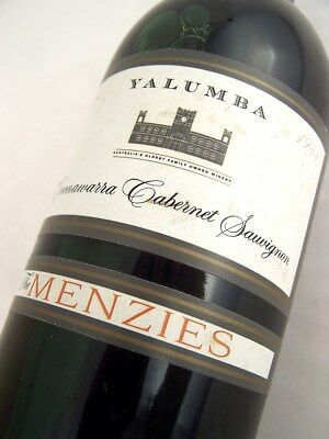 1988 YALUMBA The Menzies Cabernet Sauvignon Isle of Wine