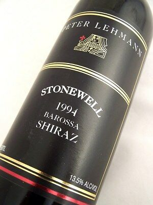 1994 PETER LEHMANN Stonewell Shiraz B Isle of Wine
