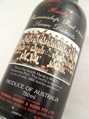 1984 HARDYS WAFL Premiership Tawny Port A Isle of Wine