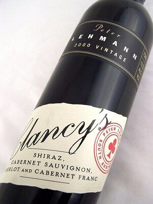 2000 PETER LEHMANN Clancys Red Blend Isle of Wine