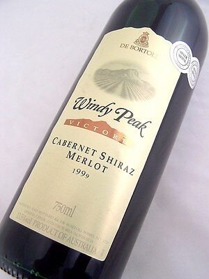 1999 de BORTOLI Windy Peak CSM Isle of Wine