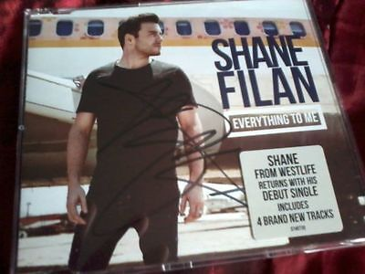 Shane Filan Everything To Me Signed/Autographed Single