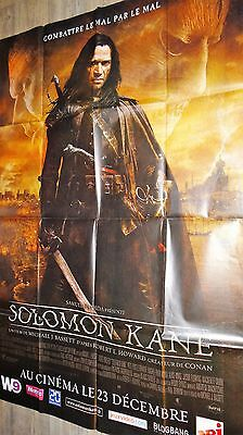 SOLOMON KANE    !  affiche cinema bd barbare