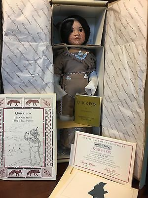 "Georgetown Collection American Diary Dolls ""Quick Fox"" ORIGINAL BOX NEVER RMVD"