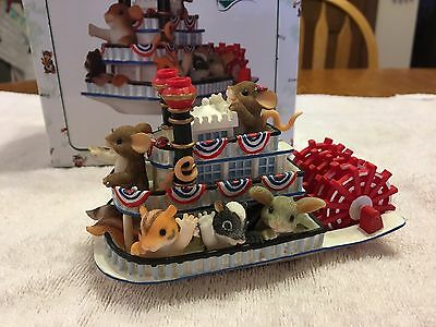 """Charming Tails """"HAVIN A BOATLOAD OF FUN """" Signed By  DEAN GRIFF"""
