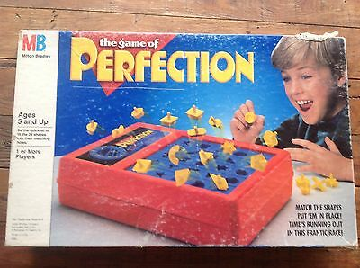 THE GAME OF PERFECTION by Milton Bradley Vintage Strategy Game Retro