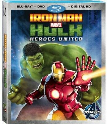Iron Man and Hulk: Heroes United [New Blu-ray] With DVD, 2 Pack, Ac-3/Dolby Di