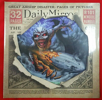 Iron Maiden Empire of the Clouds Record Store LP PICTURE NEW RARE BOX DICKINSON