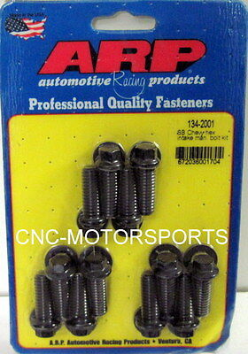 Arp Intake Manifold Bolt Kit 134-2001 Chevy 265 400 Factory Oem Black Oxide