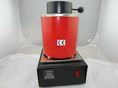 New Mini Automatic Jewelry Melting Furnace,Melt Scrap Silver&Gold Pour Bar 1-2kg
