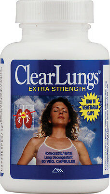 ClearLungs Extra Strength, Ridgecrest Herbals, 120 capsules