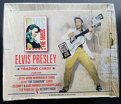 Elvis presley the Música Cromos Coleccionables Box, Sellado OVP