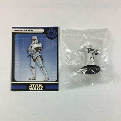 Star Wars Miniatures Universe #41 Stormtrooper (w/card)