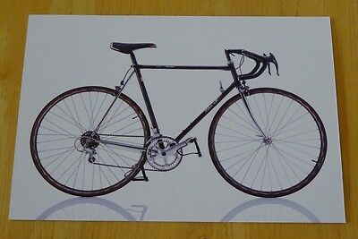 Cyclepedia Postcard ~ Iconic Bicycles ~ Winora Take-Off ~ New