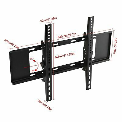Lcd Led Plasma Flat Tilt Tv Wall Mount Bracket 10 26 32 37 40 42 46 50