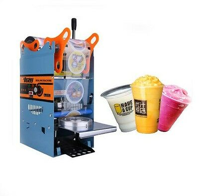 NEW 270W 220V Electric Automatic Plastic Drink Tea Cups Seale