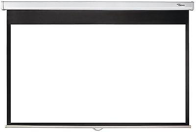 Optoma DS-9072PWC 72-Inch Projection Screen - Matte White