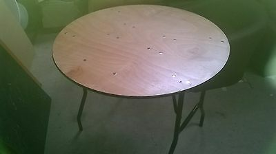 Folding Table 91cm Diameter