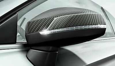 New Genuine Audi A3 Rs3 8V Accessory Carbon Door Side Assist Mirror Covers Set
